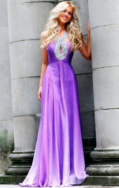 Halter Floor Length Formal Dresses from queenieau.com - Buty ślubne męskie