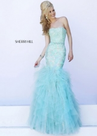 2015 Cheap SAle Sherri Hill 11263 Sparkly Lace Mermaid SALE Prom Dresses [S620-11263] - $394.90 : www.prom2014outlet.com - Sukienki na wesele