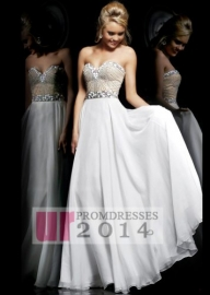 Affordable 2014 White Wedding Gown With Jewels Sweetheart [SH-1923 White] - $170.00 : 2014 New Arrival Designer Prom Dresses - Suknie ślubne