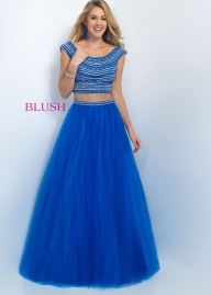 Stylish Cap Sleeve 2 PC Royal Evening Gown Sale [blush 5514 royal] - $167.00 : 2015 Prom Dresses, 60% off Girls Homecoming Dresses Outlet - Sukienki na wesele