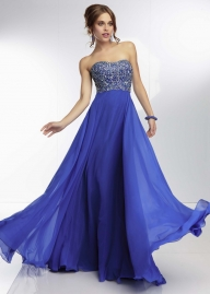 Long Beaded Strapless Royal Mori Lee 95015 Evening Gown [Mori Lee 95015 Royal] - $158.90 : 2015 Prom Dresses, 60% off Girls Homecoming Dresses Outlet - Sukienki na wesele