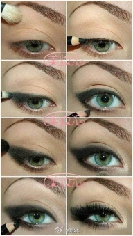 20 Amazing Eye Makeup Pictures To Inspire You - Makijaż i paznokcie
