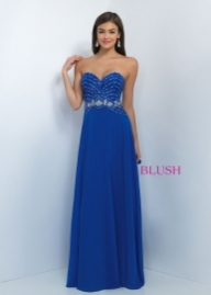 2016 Cheap Sale Blush Prom 11070 Jeweled Strapless Royal Evening Gown - Prom Dresses 2016 - Sukienki na wesele