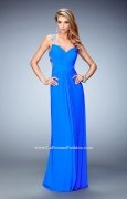 La Femme 22068 Strappy Back Intricately Gathered Prom Dress - $207.00 - Sukienki na wesele