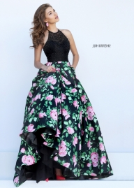 Black Pink Sparkly Beaded Cheap Sherri Hill 50425 Two Tone Floral Print Gown [sherri hill 50425 black pink] - $339.00 : 2016 Sherri Hill Prom Dresses Cheap Sale online.Big Discount Price Sherri Hill - Buty ślubne damskie