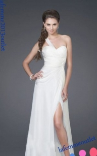 La Femme 15247 Single Strap Long Prom Dresses 2013 [one shoulder prom dress] - $185.90 : lafemme2013outlet.com - Biżuteria ślubna