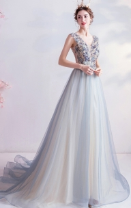 Grey Formal Dresses Australia Online from formaldressau.com  #light grey prom dress  - Atrakcje