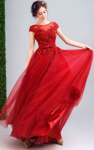 Red Formal Dresses Online Australia 2021  https://www.formaldressau.com/collections/red-formal-dresses - Makijaż i paznokcie