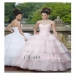 Popular Ball Gown Strapless Floor-length Organza Pearl Quinceanera Dresses