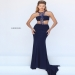 Navy Cut Out Racerback Jersey Prom Gown by Sherri Hill 50437 [sherri hill 50437 navy] - $180.00 : Cheap Prom Dresses 2015 For Sale,Save Up to 60%