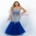 2016 Blush Prom 9702 Vivacious Illusion V-Neck Mermaid Gown Sale [blush 9702 sapphire] - $208.00 : 2014 Prom Dresses For Cheap|dressforparty2014.org