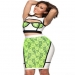 Womens 2015 Green Lace Cover White Cutout Two Piece Bandage Dress [162106] - $122.00 : Cheap Bandage Dresses Online, Sexy Bodycon Club Dress 2016