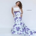 2016 Printed Purple Two Piece Mermaid Gown for Women [sherri hill 50421 purple print] - $220.00 : Prom Dresses, Homecoming Dresses, Formal Dresses Outlet � EveryProm