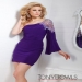 Purple Short Beading Tony Bowls TS21319 Prom Dress [Tony Bowls TS21319] - $193.00 : www.2014dresstrends.us