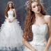 Princess Sweetheart Lace Strapless Floor-Length Wedding Dress 2016 New Custom Made - Wedding Dresses