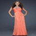 On Sale Orange Cutout Back Sparkly Cheap Long Prom Dress [long sparkle prom dress] - $176.90 : lafemme2013outlet.com