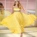 Yellow Strapless Beaded Waist Alyce 6194 Long Prom Dress [Alyce 6194 Long Prom Dress] - $150.00 : www.2014dressesforprom.us