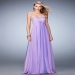 Elegant Flowing Chiffon La Femme 22363 Jeweled Prom Dress [la femme 22363 wisteria] - $169.00 : Hot Sale Prom Dresses