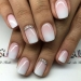 ślubny manicure french ombre