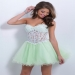 Apple Sorbet Jewels Beaded Lace Blush Prom 9869 Homecoming Dress [Blush Prom 9869] - $175.00 : www.2014dressesforprom.us