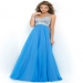 Stunning Clear Jewels Beaded Iris Long Chiffon Evening Gown [Blush 9726 Iris] - $180.00 : Hot Sale Prom Dresses