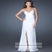 La Femme 18541 Long White Sequin Chiffon Prom Dresses [long white prom dresses] - $155.00 : www.2014dressesforprom.us