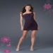 Plum Rhinestone One Strap Bodice Mini Dress Cheap [short plum one shoulder prom dress] - $174.69 : lafemme2013outlet.us