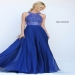 Long Beaded Sherri Hill 50615 Royal Flowy Evening Prom Dress [Sherri Hill 50615 Royal] - $175.00 : 2016 Sherri Hill Prom Dresses Cheap Sale online.Big Discount Price Sherri Hill