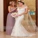 Black Friday Sale Sheath Off the Shoulder Court Train Tulle Wedding Dress with Appliqued