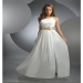 A-line with Beading One-shoulder Floor-length Sleeveless Chiffon Dress