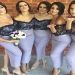 Shop Mermaid Off-the-Shoulder Ankle-Length Bridesmaid Dresses On Sale - Ombreprom