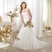 Pronovias presents the Lanice wedding dress. Fashion 2014. | Pronovias