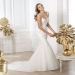 Pronovias presents the Land wedding dress. Fashion 2014. | Pronovias
