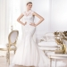 Pronovias presents the Leroig wedding dress. Fashion 2014. | Pronovias