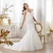 Pronovias presents the Lexine wedding dress. Fashion 2014. | Pronovias