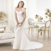 Pronovias presents the Lamas wedding dress. Fashion 2014. | Pronovias