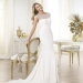 Pronovias presents the Lennie wedding dress. Fashion 2014. | Pronovias