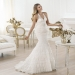 Pronovias presents the Levada wedding dress. Fashion 2014. | Pronovias