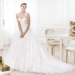 Pronovias presents the Layanne wedding dress. Glamour 2014. | Pronovias