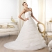 Pronovias presents the Lassam wedding dress. Glamour 2014. | Pronovias