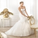 Pronovias presents the Leire wedding dress. Dreams 2014. | Pronovias